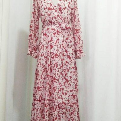 vestido rojo 2595